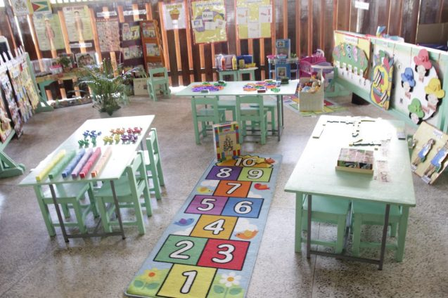 A model Early Childhood classroom