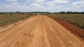 Completed Kraudanau road