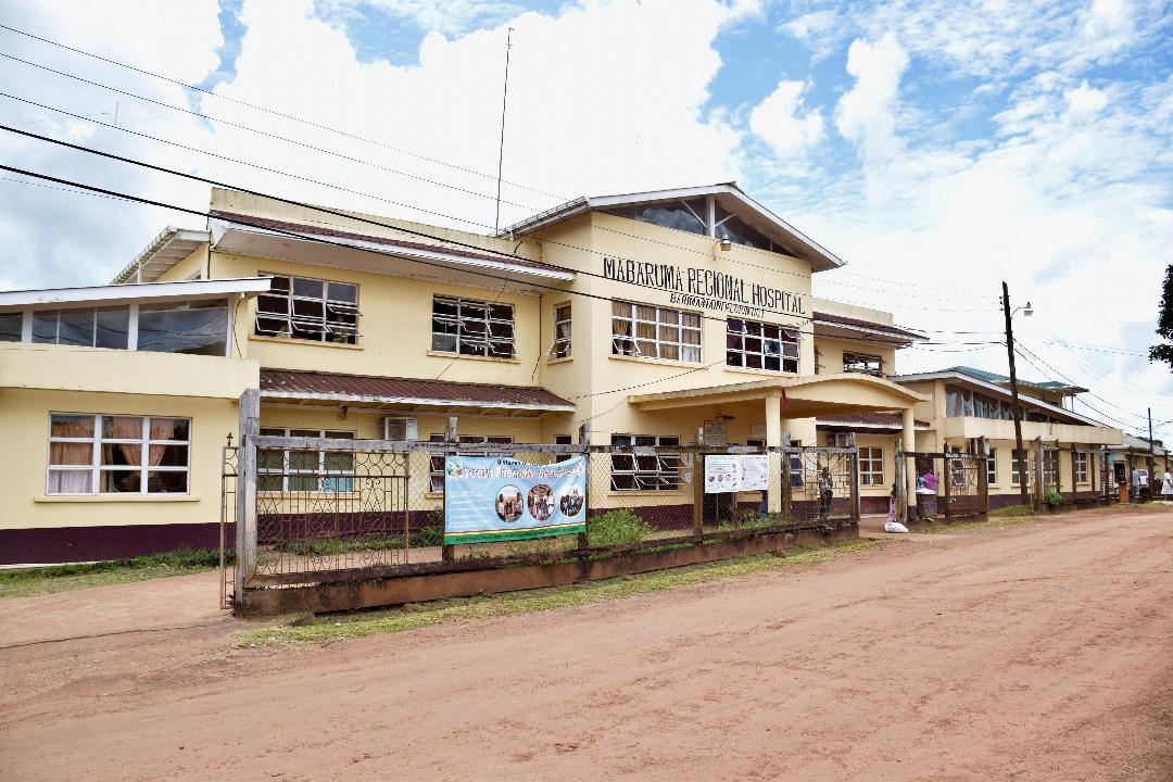 The Mabaruma Regional Hospital in Region One