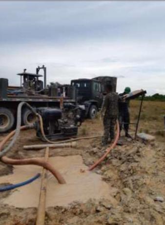 Drilling at Shea Village