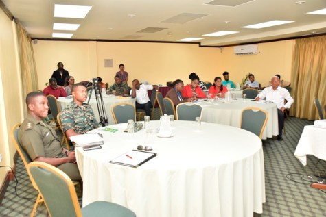 Attendees of the Disaster Risk Management Workshop.