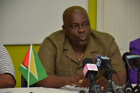 Chief Election Officer of the Guyana Elections Commission (GECOM), Keith Lowenfield.