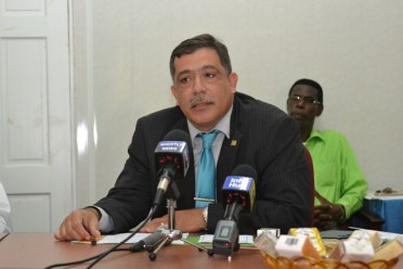 Country Representative of Inter-American Institute for Cooperation on Agriculture (IICA), Wilmot Garnett.