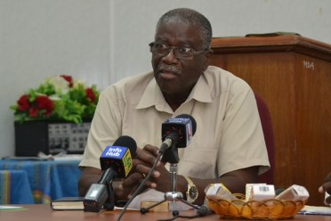 Chief Executive Officer (CEO) of the Guyana Livestock Development Authority (GLDA), Nigel Cumberbatch.