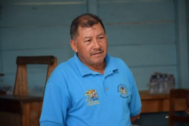 Minister of Indigenous Peoples' Affairs Sydney Allicock