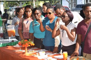Scenes during Ministry of Agriculture Annual Cook-off competition.