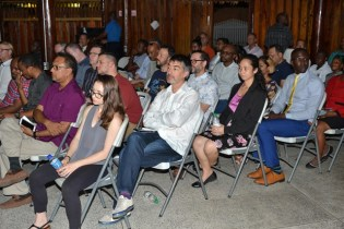 The presentation was part of a trade mission visit by a 50-member delegation currently in Guyana.