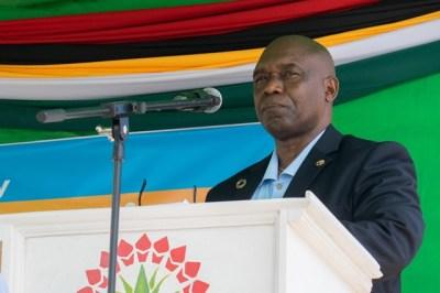 Ruben Robertson, FAO Representative in Guyana.