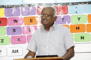 Head of Management Information Systems Unit (MISU), Mr. Yoganand Indarsingh.