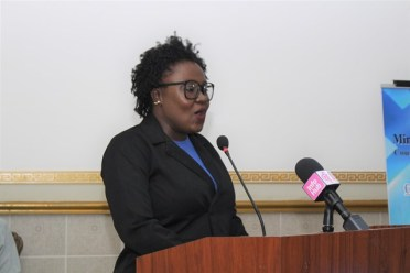 Coordinator of the C-TIP Unit, Tanisha Williams-Corbin.