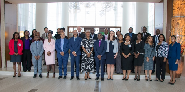 Government officials and trade experts from the Caribbean are in Guyana for a two-day consultation on multilateral, regional and emerging trade issues which is being hosted by The Commonwealth.