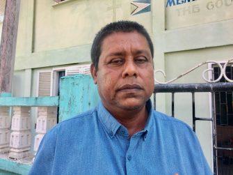 President Upper Corentyne Chamber of Commerce, Mohindra Persaud