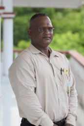 Chairman of the Community Development Council (CDC), Sunil Oudit.