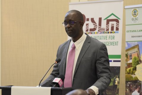 Chief Executive Officer and Commissioner of the Guyana Lands and Surveys Commission, Trevor Benn.