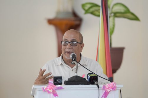 Director of Outreach of the Cancer Institute of Guyana, Dr. Syed Ghazi