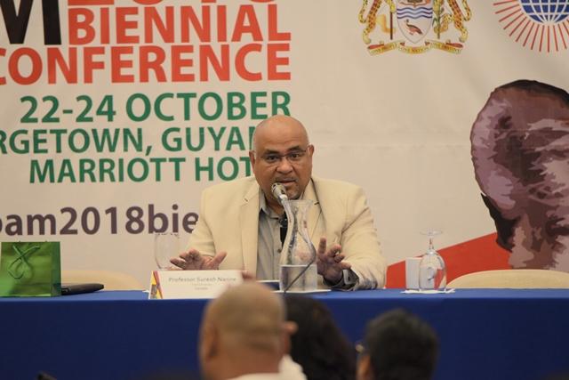Professor, Trent University, Canada, Dr. Suresh Narine.