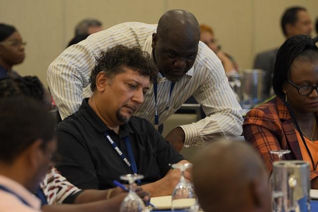Participants at CAPAM's plenary sessions.