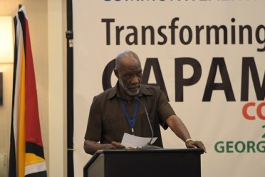 Chairman of the Board of the National Accreditation Guyana, Vincent Alexander.