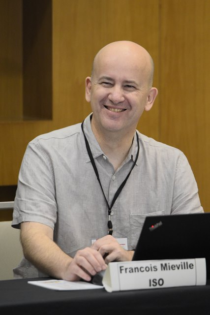 ISO training Facilitator, Francois Melville.