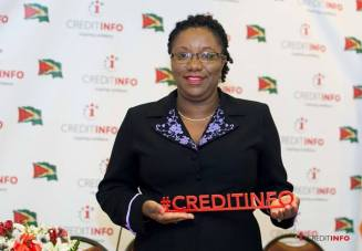 Chief Executive Officer of Credit Info, Judy Semple-Joseph.