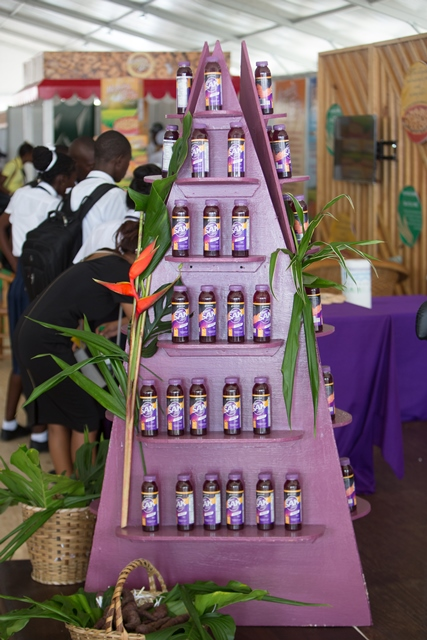 SAK, commonly known as fly, is a locally produced drink that Indigenous people make from the purple sweet potato.