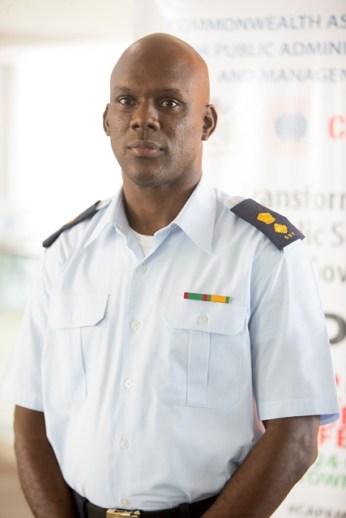 Acting Director General, Civil Defence Commission, Lieutenant-Colonel Kester Craig.