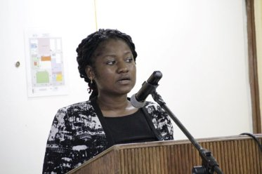 Health Promotion Coordinator in the Ministry of Education, Ms. Dionne Browne.