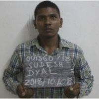 Prison Escapee, Sudesh Dyal.