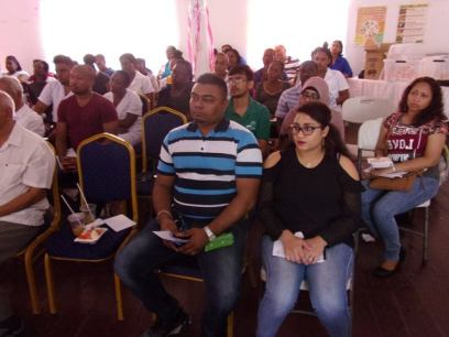 A section of the health workers paying keen attention to the presentations.