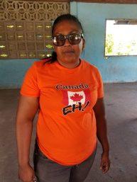 Anita Evans, a motorist and member of the Berbice Bus Association.