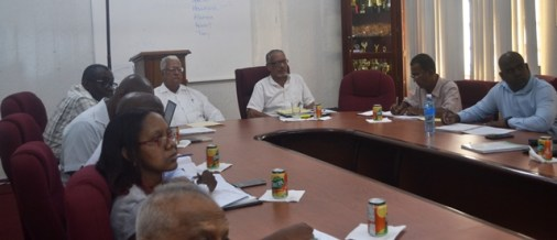 A section of the meeting.