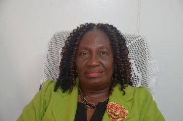 Constituency Three contestant for APNU and Mayor of New Amsterdam Winifred Heywood.
