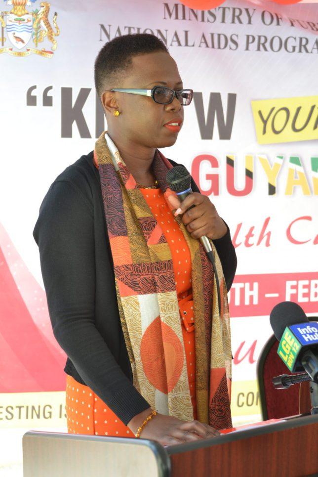Dr. Rhonda Moore, Programme Manager, National AIDS Programme Secretariat