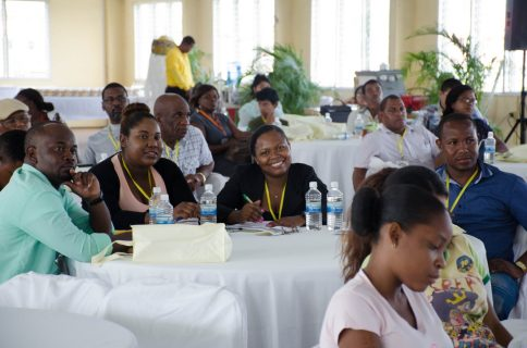 Some of the participants at the 9th Caribbean Beekeeping Congress