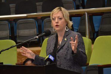 Local Area Procurement Manager of ExxonMobil, Tara Clinton