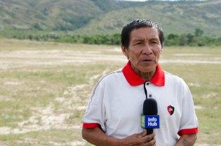 Village Council Secretary of Region Eight, Paul Daniels.