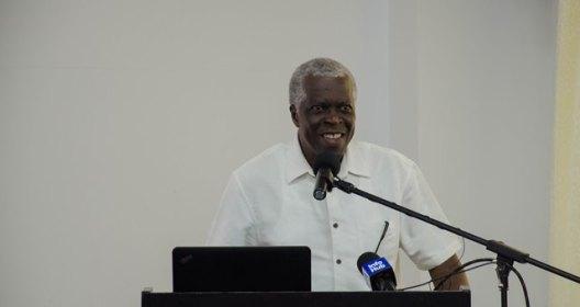 Director General of the Guyana Civil Aviation Authority Ret'd. Lieutenant Colonel Egbert Field.