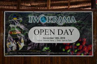 Iwokrama Open Day Banner