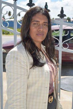 AFC election agent, Rashree Permaul.
