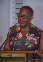 Director General of the Maritime Administration Department, Claudette Rogers