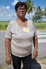 Regional Vice-Chairman Region Two, Juliet Coonjah.