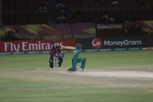 The action between New Zealand and Pakistan.