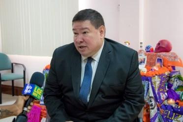 Mexican Ambassador to Guyana, Ivan Roberto Sierra Medel.