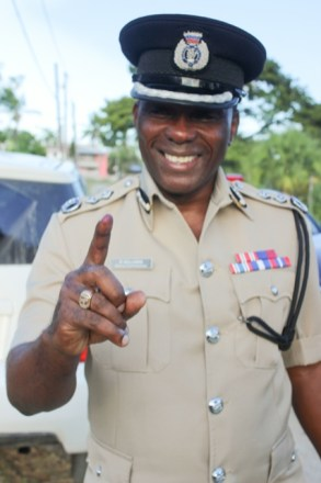 Paul Williams, Deputy Commissioner, Guyana Police Force (GPF).
