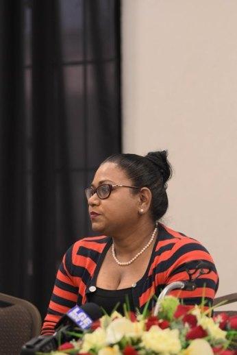 Coordinator of GUYTIE Tameca Sukhdeo-Singh.