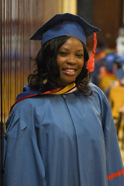 Graduate from the Midwifery Programme, Ann Ferguson-Goppy.