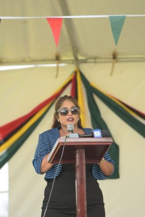 Legal Advisor to the Minister of State, Geeta Chandan-Edmond.