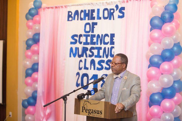 Professor Ivelaw Griffith, Vice Chancellor, University of Guyana (UG)