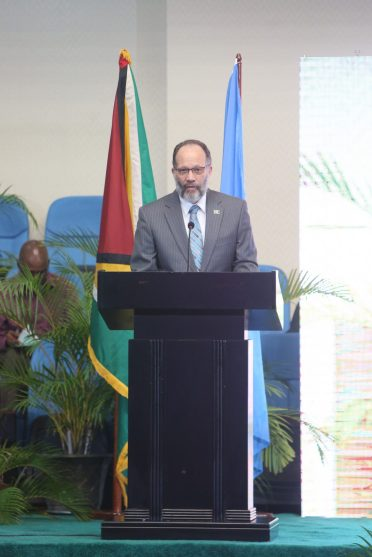 Secretary-General of CARICOM, Ambassador Irwin LaRocque