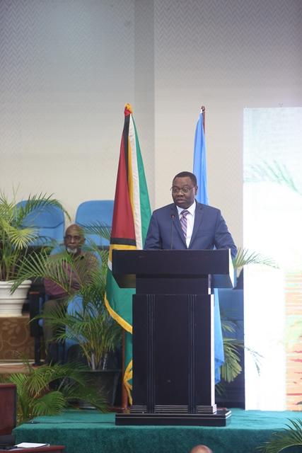 International Civil Aviation Organisation (ICAO) President, Dr. Olumuyiwa Benard Aliu.